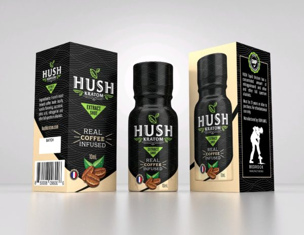 Hush Kratom Coffee Shot