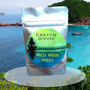 RED VEIN INDO (aka RED MAENG DA) KRATOM POWDER