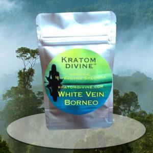 WHITE VEIN BORNEO KRATOM POWDER